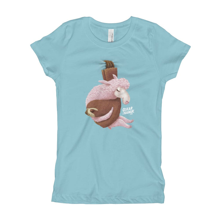 Girls Slim Fit T-Shirt - Ages 7-15 - Lets hang out Cancun / XS
