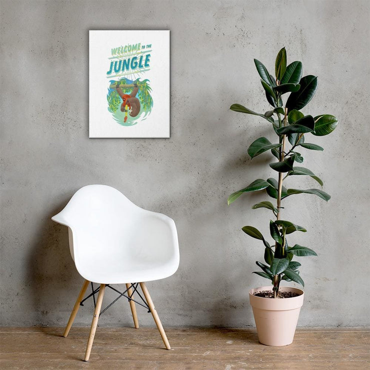 Hand-stretched Canvas Print - Welcome to the Jungle