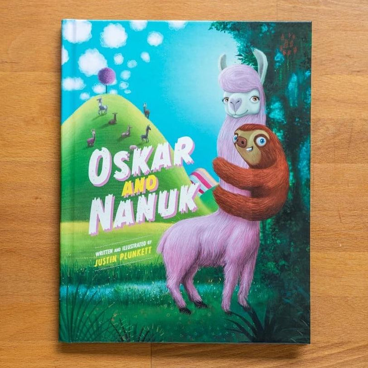 Oskar & Nanuk Picture Book (Hardcover)