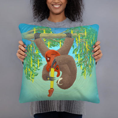 Rock sloth Pillow