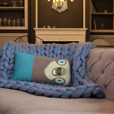 Sloth Pillow Cushion incl. insert 20×12