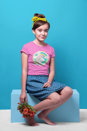 Girls Slim Fit T-Shirt - Ages 7-15 - Hello Lovely