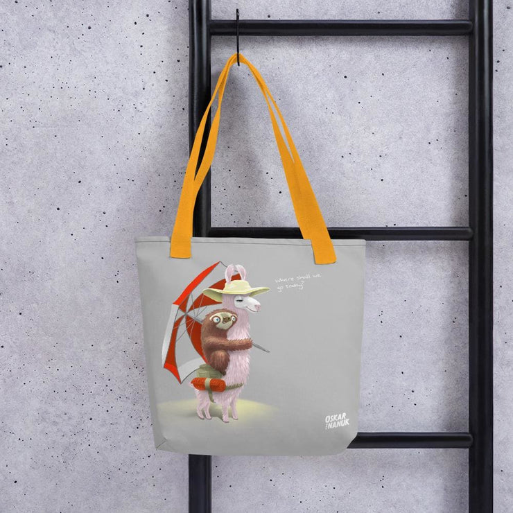 Tote bag - Beach Pals Yellow