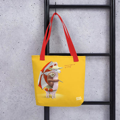 Tote bag - Beach Pals - Yellow
