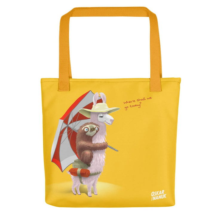 Tote bag - Beach Pals - Yellow Yellow