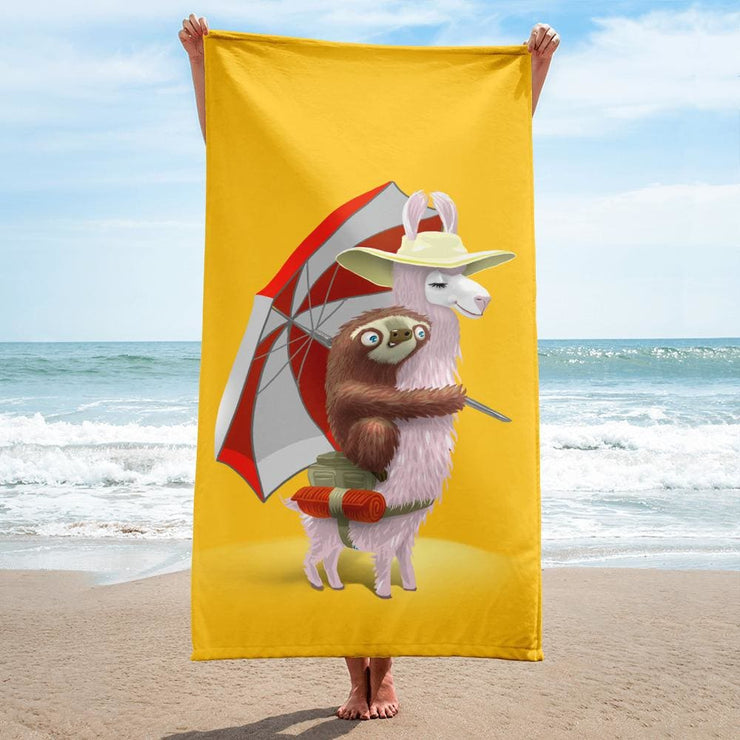 Towel - Beach Pals Yellow
