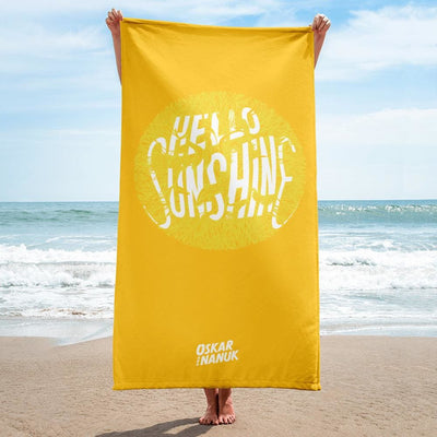 Towel - Hello Sunshine Yellow