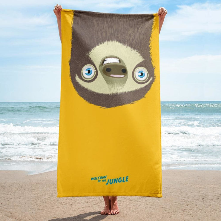 Towel - sloth