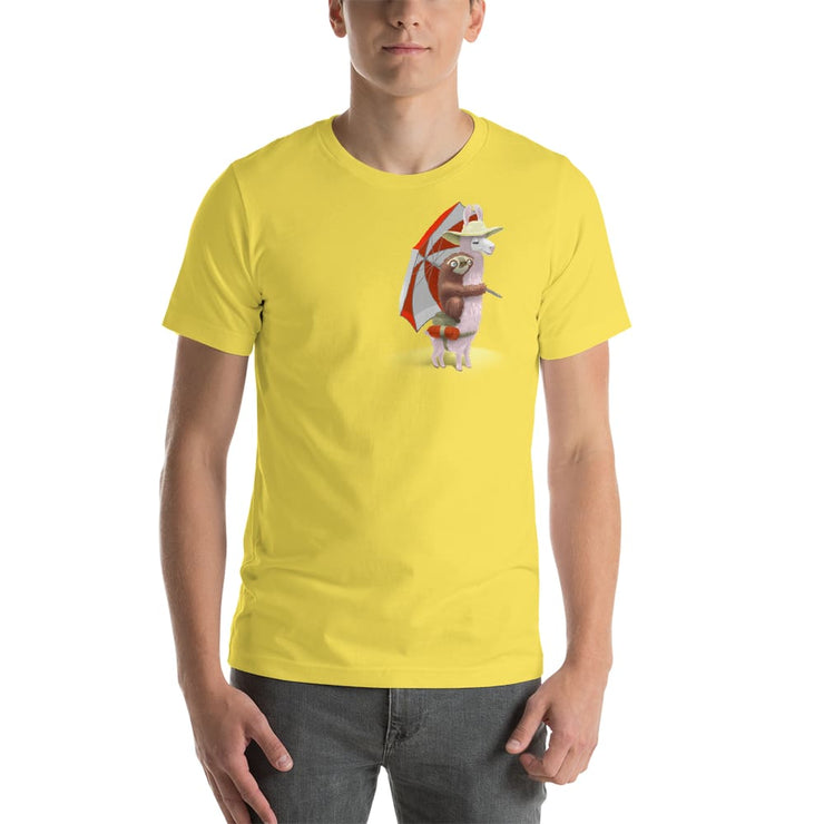 Unisex Short-Sleeve T-Shirt - Beach Pals Yellow / S