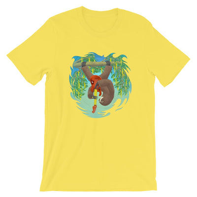 Unisex Short-Sleeve T-Shirt - Oskar Rocks Yellow / S
