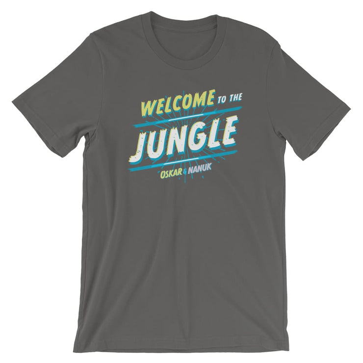 Unisex Short-Sleeve T-Shirt - Welcome to the Jungle Asphalt / S