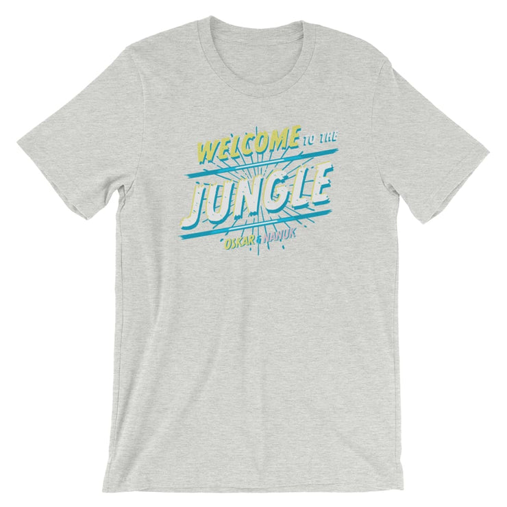 Unisex Short-Sleeve T-Shirt - Welcome to the Jungle Athletic Heather / S
