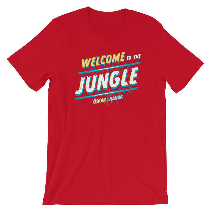 Unisex Short-Sleeve T-Shirt - Welcome to the Jungle Red / S