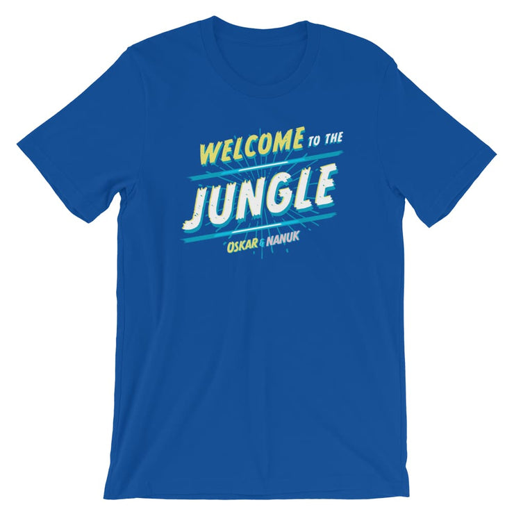 Unisex Short-Sleeve T-Shirt - Welcome to the Jungle True Royal / S