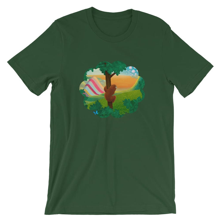 Unisex Short-Sleeve T-Shirt - Window to the World Forest / S
