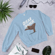 Unisex Sweatshirt - yoga sloth Light Blue / S