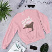 Unisex Sweatshirt - yoga sloth Light Pink / S