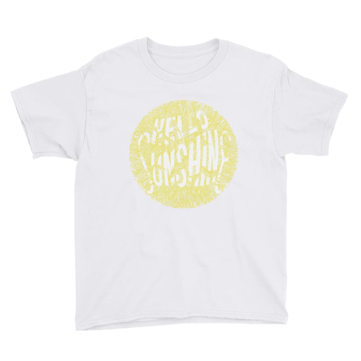 Youth Short Sleeve T-Shirt - Hello Sunshine White / XS