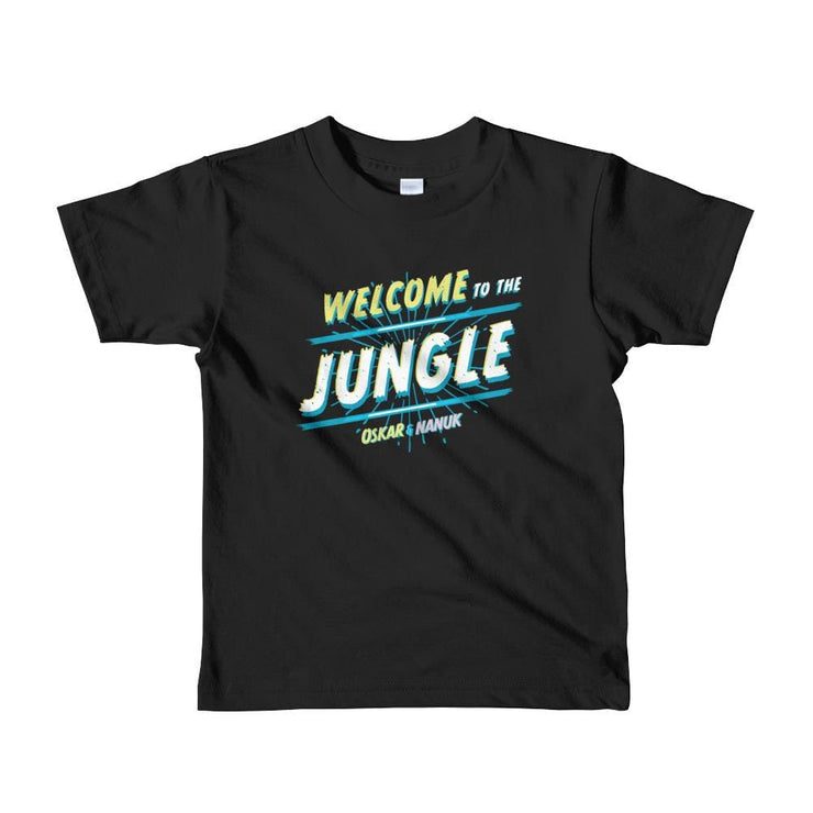 Youth Short Sleeve T-Shirt - Welcome to the Jungle - text Black / 2yrs