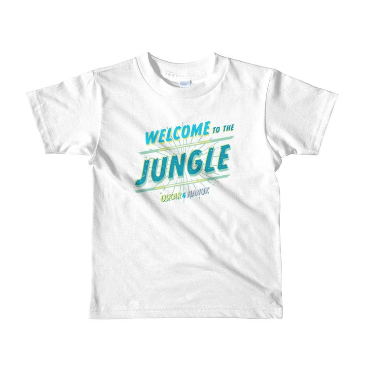 Youth Short Sleeve T-Shirt - Welcome to the Jungle - text White / 2yrs
