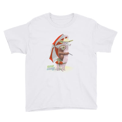 Youth Unisex Short Sleeve T-Shirt - Beach Pals White / XS