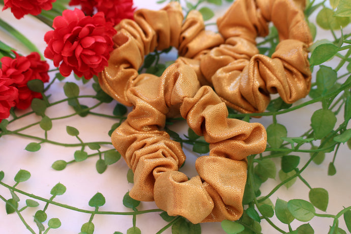 Go For Gold Scrunchie