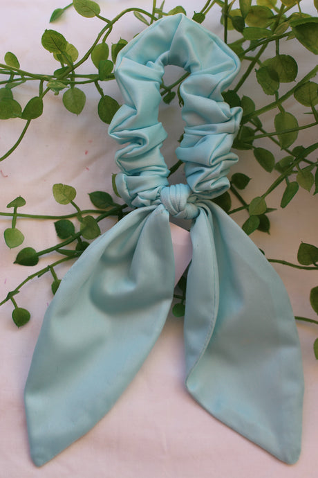 Baby Blue Long Tail Tie