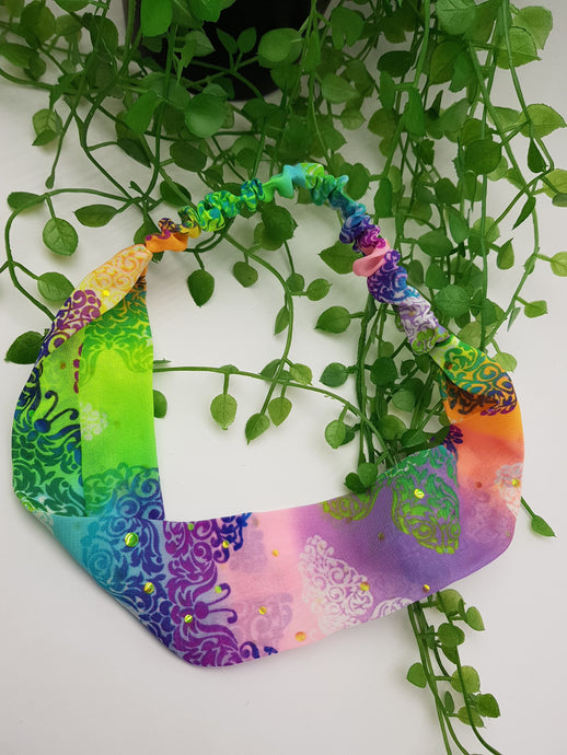 Rainbow Butterfly Headband