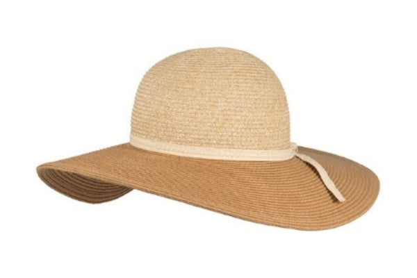 Santa Cruz Hat - Two Tone Natural