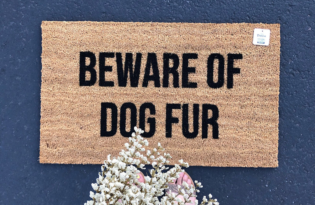 Beware of dog fur