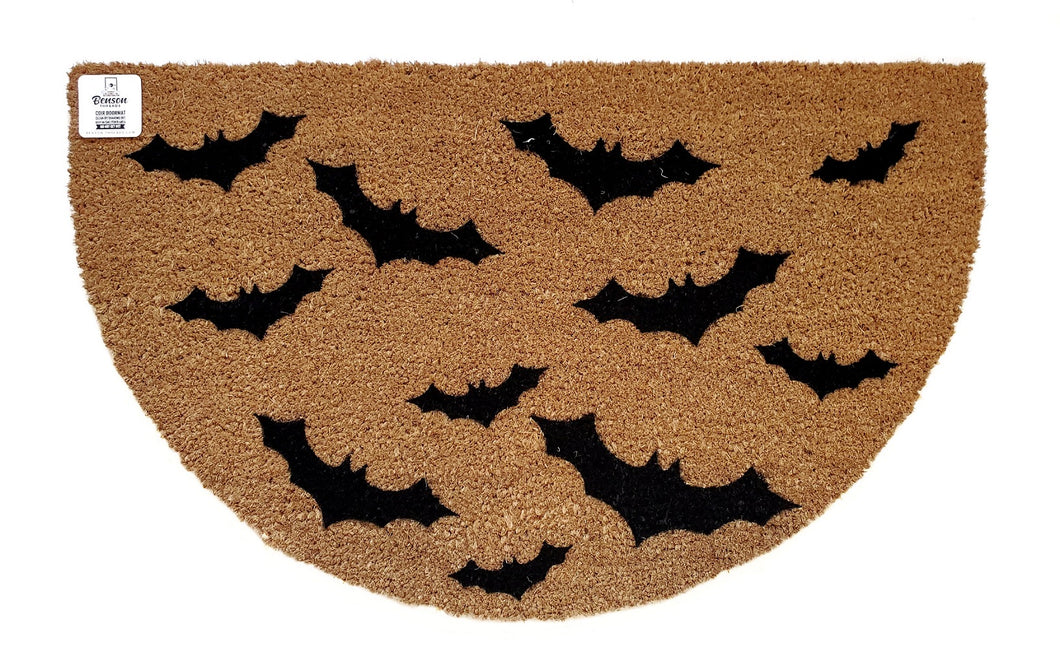 Bat semi circle doormat