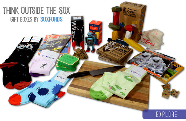 Soxfords Themed Gift Boxes