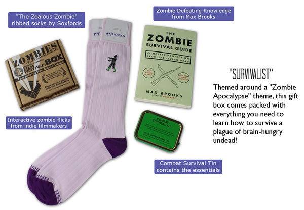 Soxfords - Themed Gift Boxes for Zombie Lovers