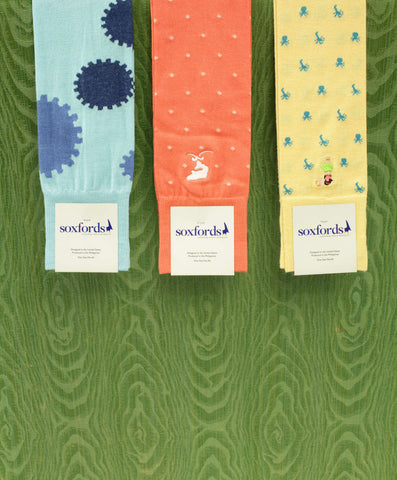 Soxfords Socks in Colorful Spring Colors!