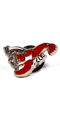 Lobster Lapel Pin