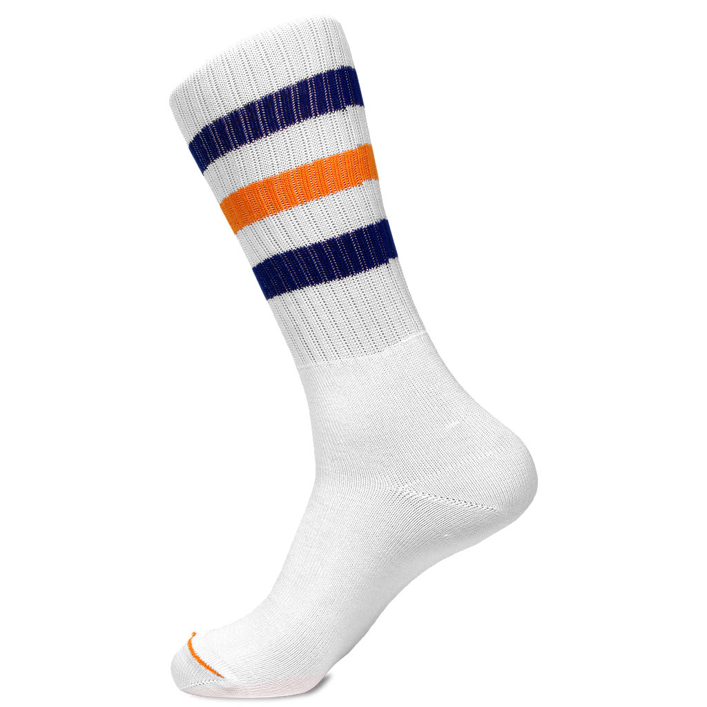 """Jim's Socks"" (White): Featured Product Image"