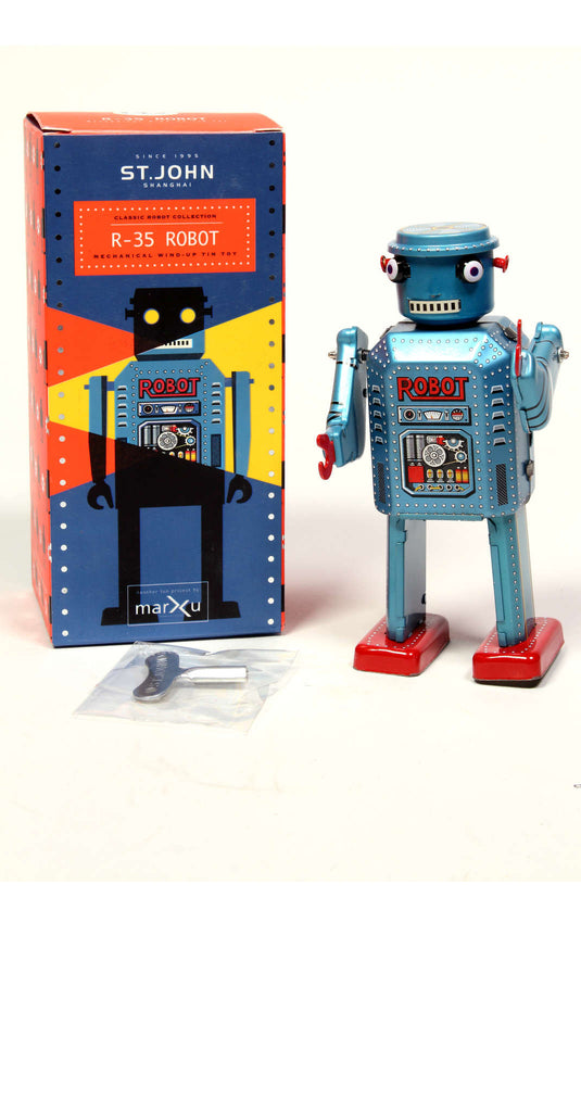 Wind-up Robot: Featured Product Image