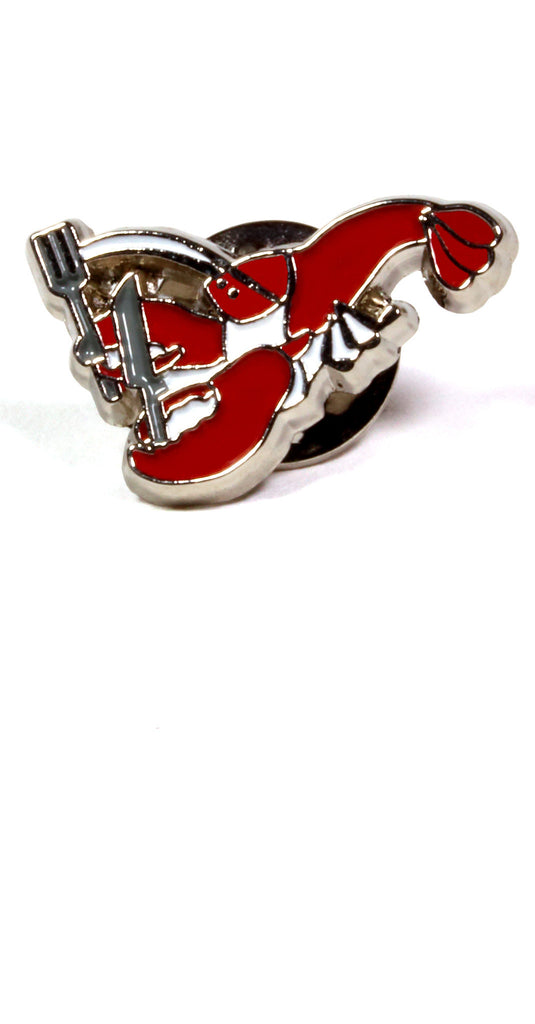 Lobster Lapel Pin: Featured Product Image