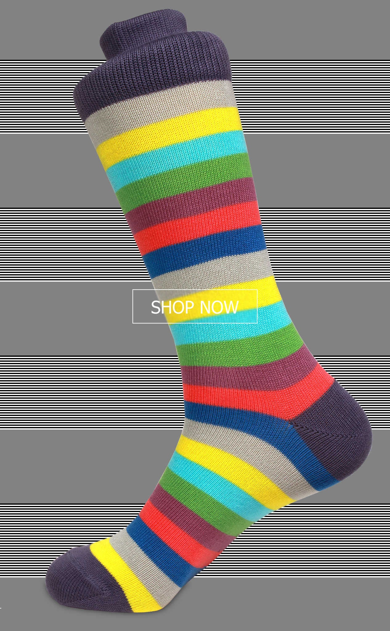 The best colorful Pima cotton socks you'll find!