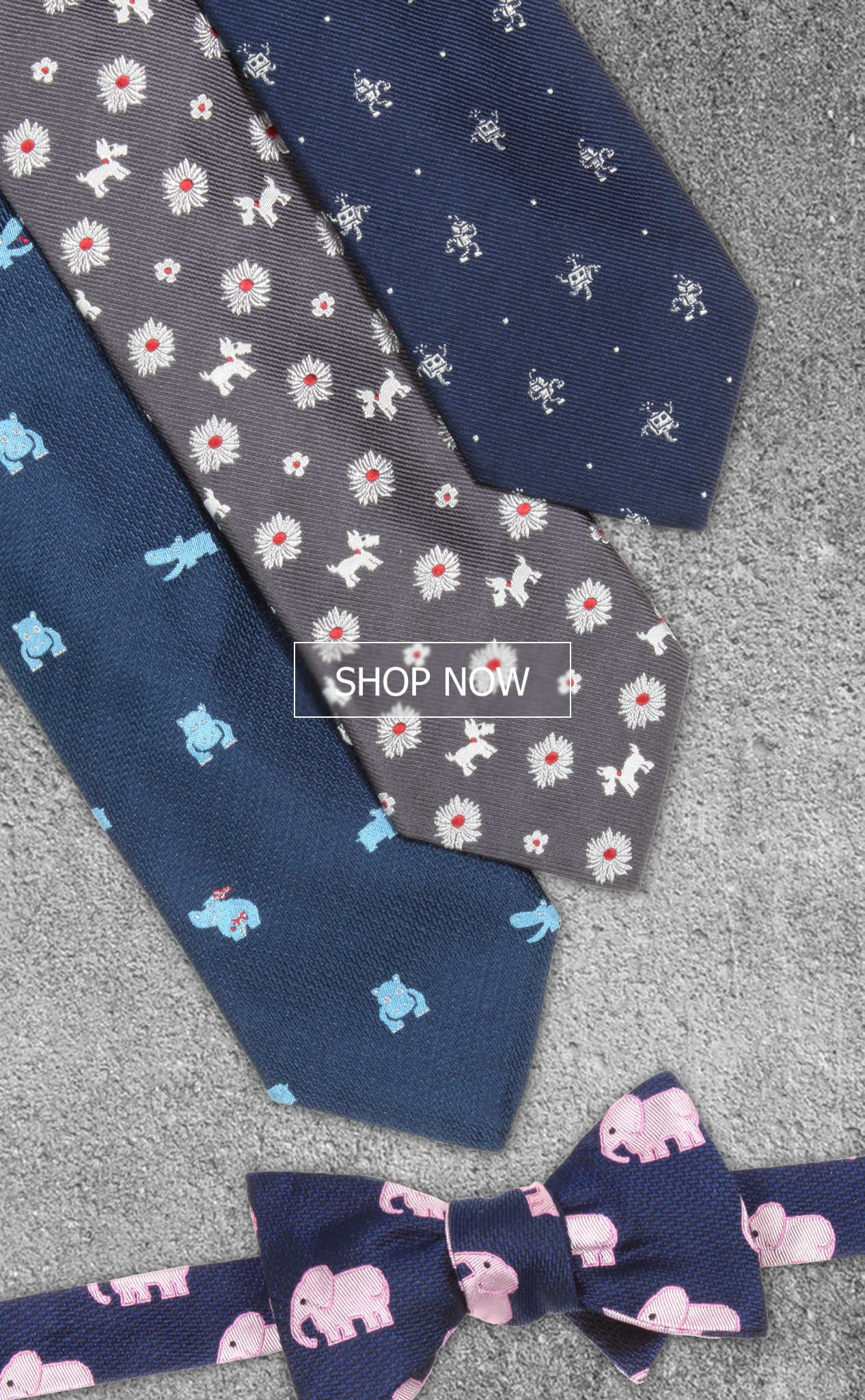 Soxfords Introduces New Silk Embroidered Ties and Bow Ties