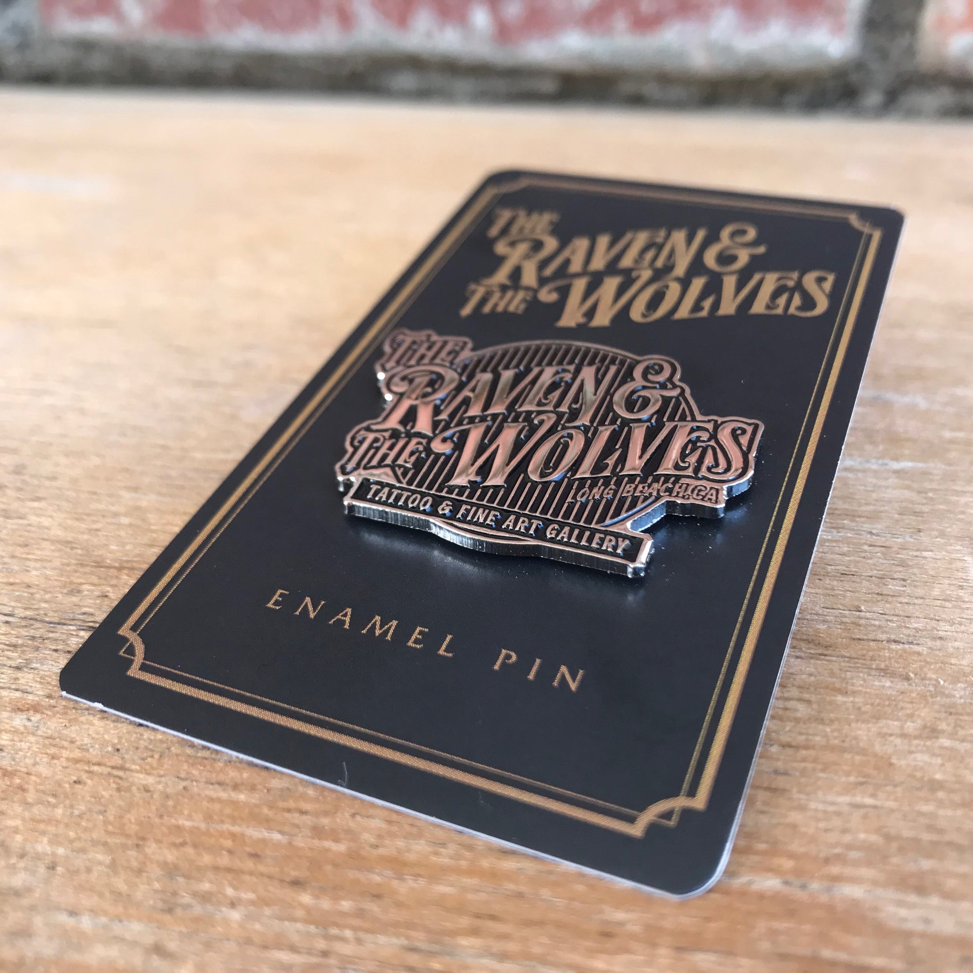The Raven & The Wolves Pin