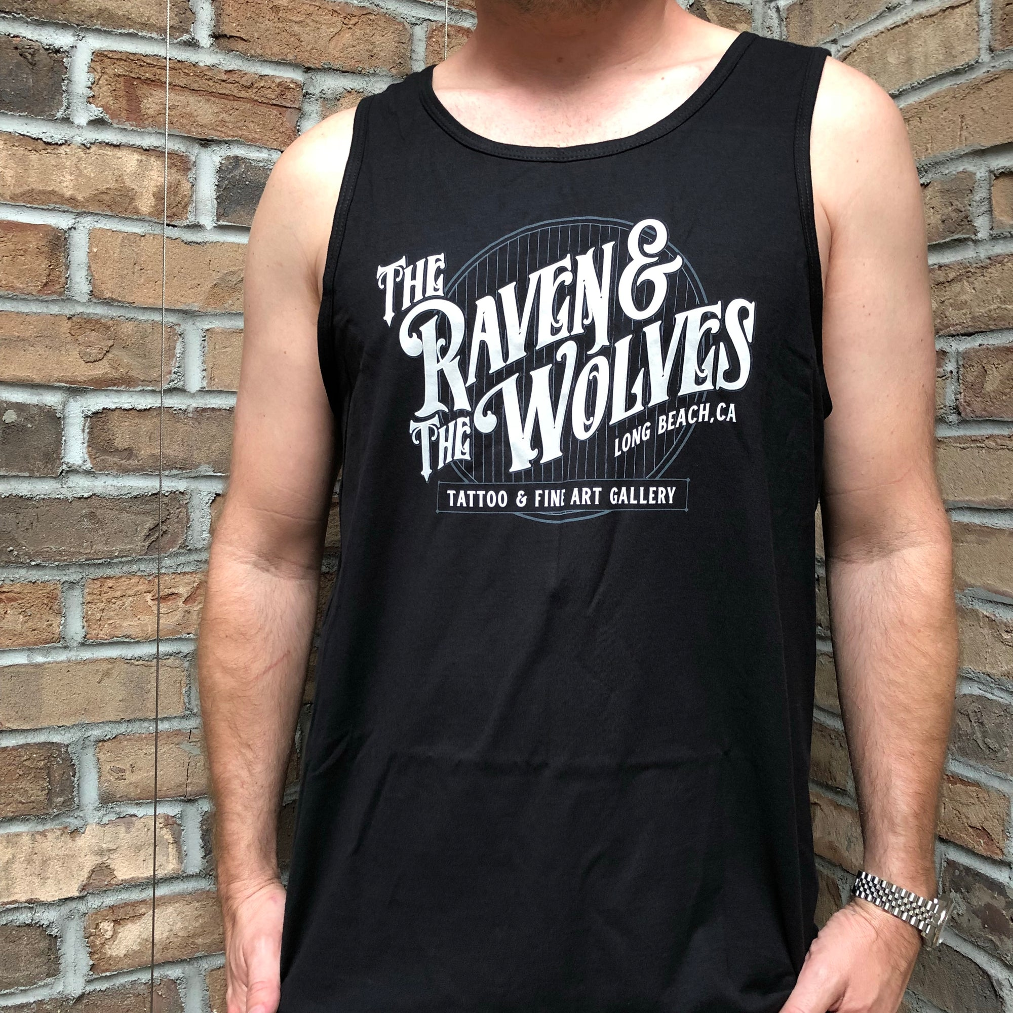 The Raven & The Wolves Men's Tank Top