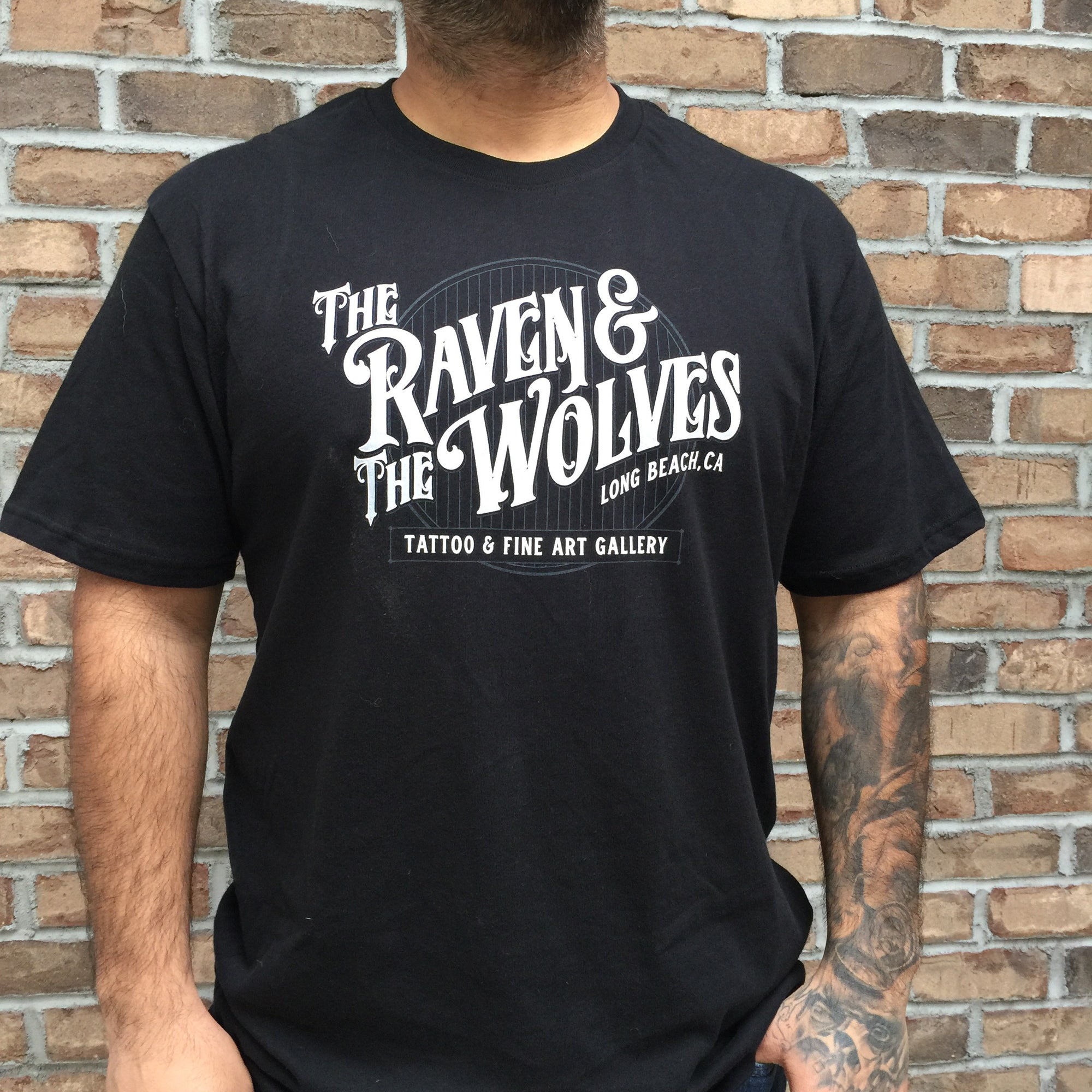 The Raven & The Wolves Shop Tee
