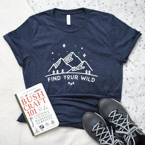 find your wild unisex tee- Piper and Ivy