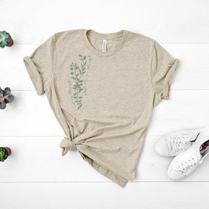 grow through what you go through unisex tee- Piper and Ivy