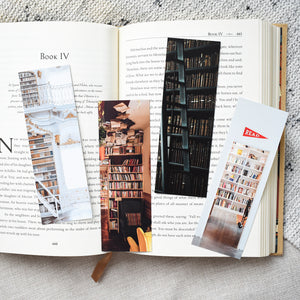 library bookmark collection