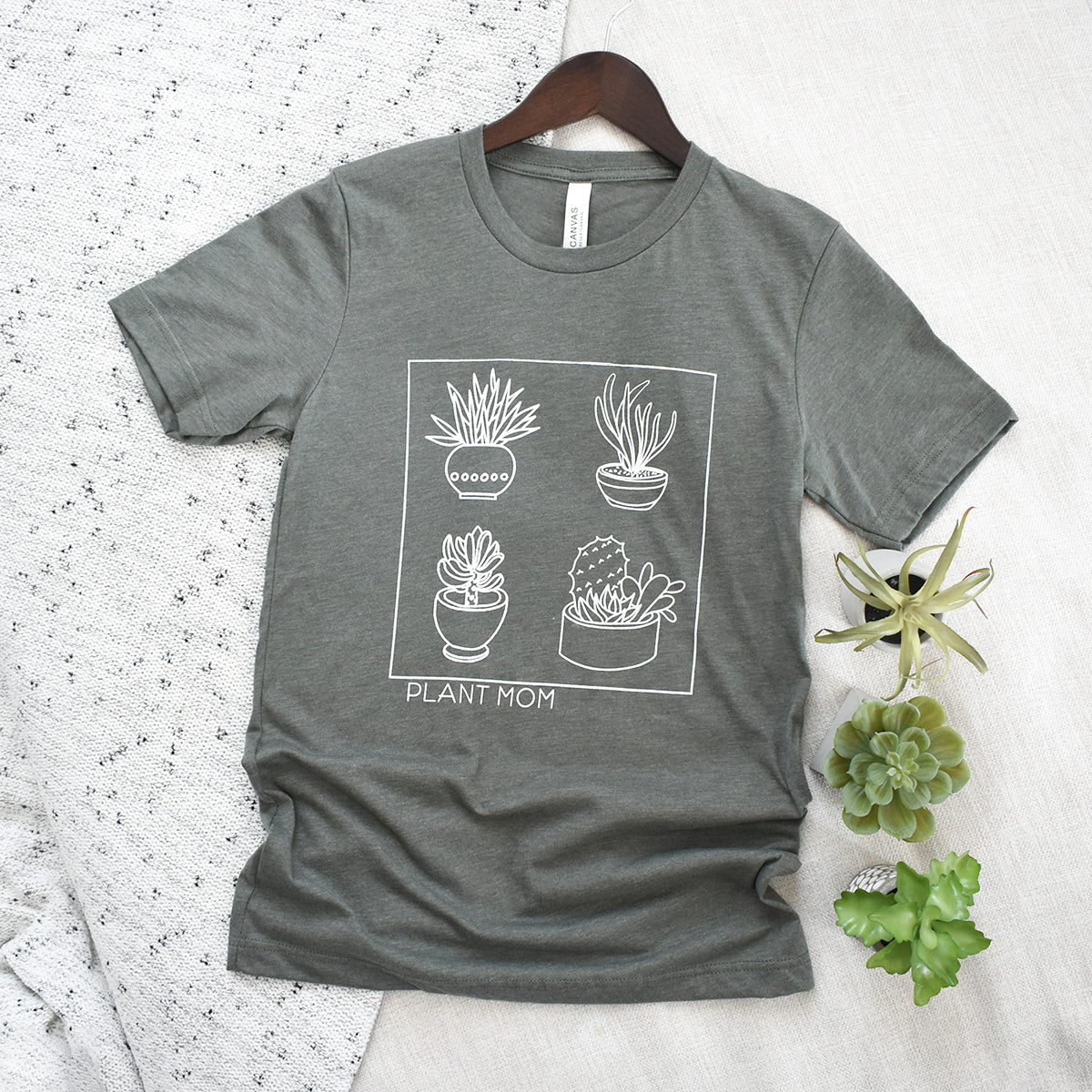 Download plant mom box unisex tee - Piper and Ivy