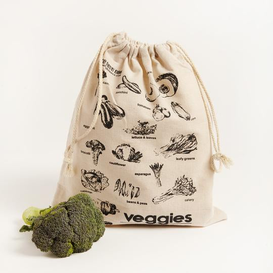Linen Veggie Produce Bag
