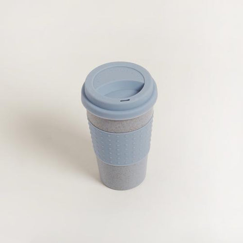 Blue Reusable Bio Coffee Cup