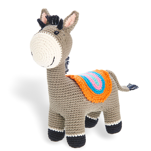 Standing Donkey Rattle